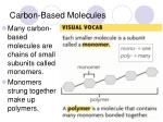 carbon based molecules