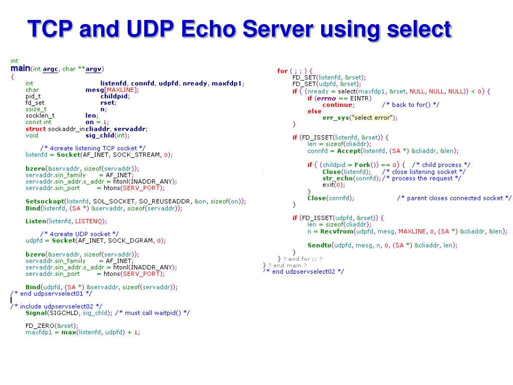 PPT - UDP Sockets PowerPoint Presentation - ID:3962484