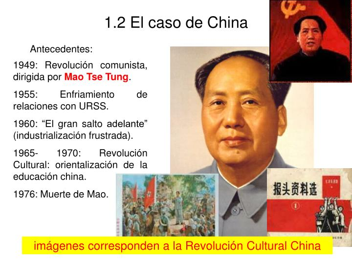 1.2 El caso de China