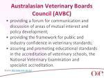 australasian veterinary boards council avbc1