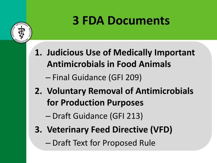 3 FDA Documents