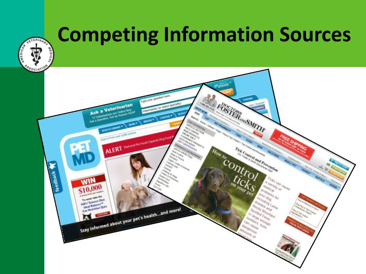 Competing Information Sources