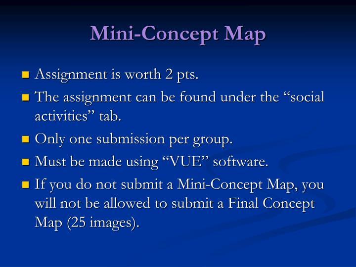 Mini concept map