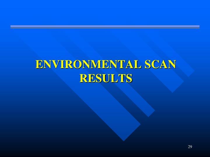 enviormental scan