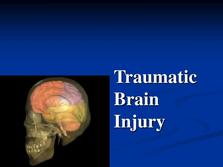 use of a traumatic brain injury Traumatic brain injury is usually caused by a blow or other traumatic injury to the head or body the degree of damage can depend on several factors, including the nature of the injury and the force of impact.