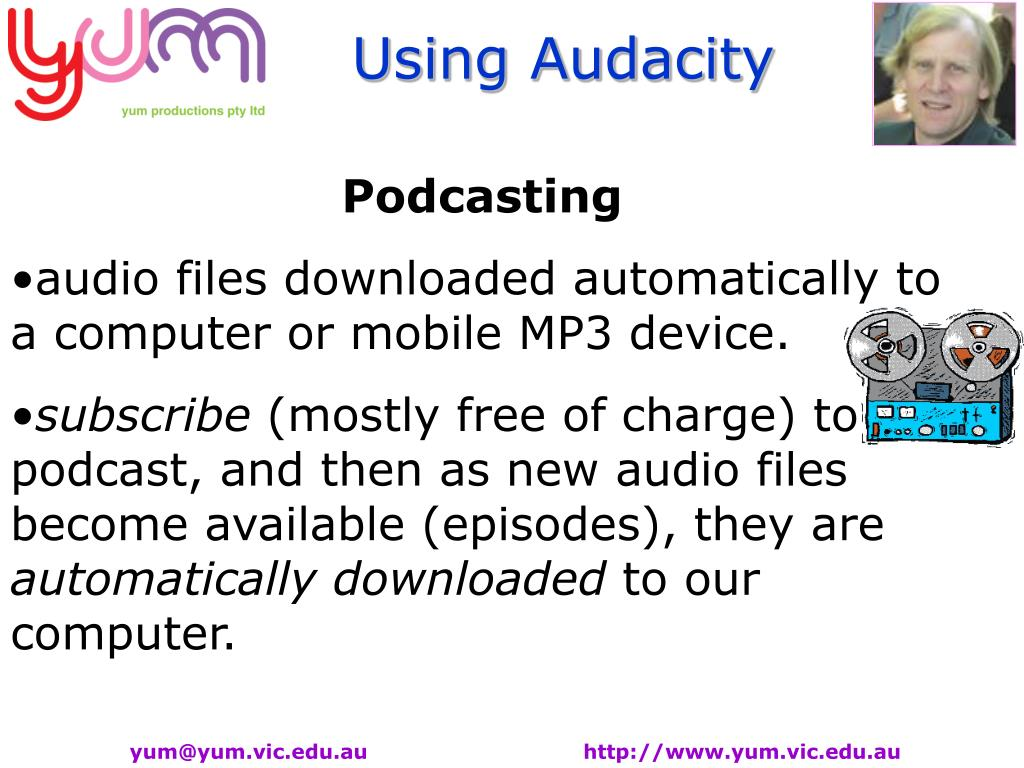 PPT - Audacity is a free, easy-to-use audio editor and recorder for