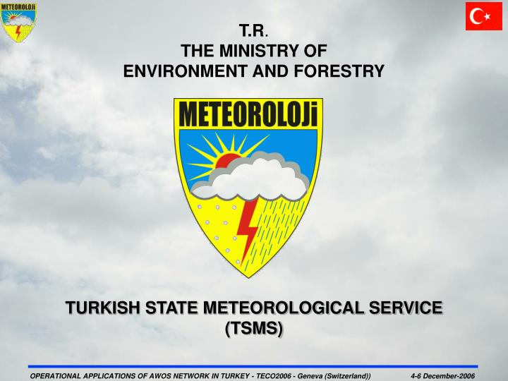 t r the ministry of environment and forestry