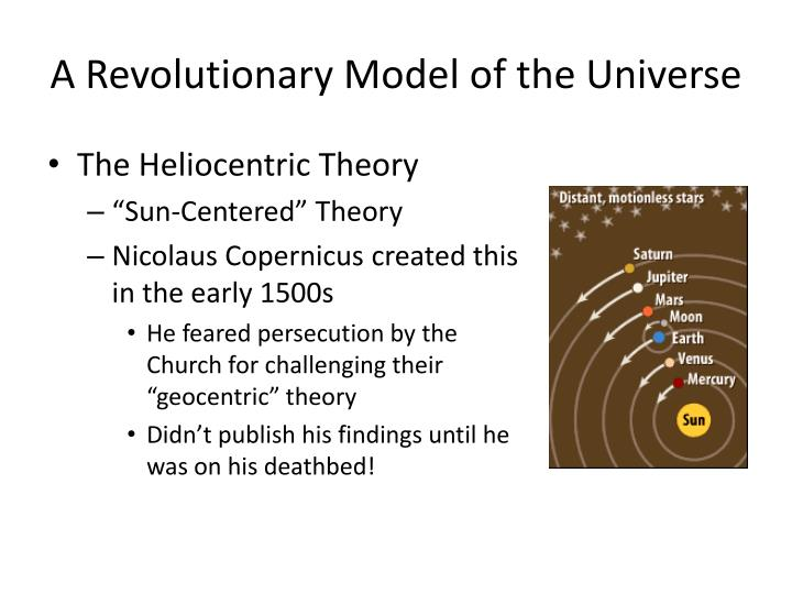 A Revolutionary Model of the Universe