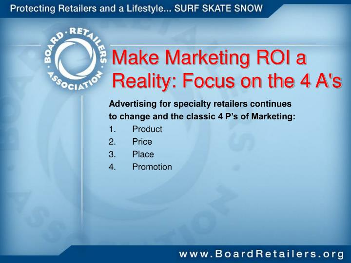 Make Marketing ROI a