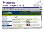 prospects www prospects ac uk