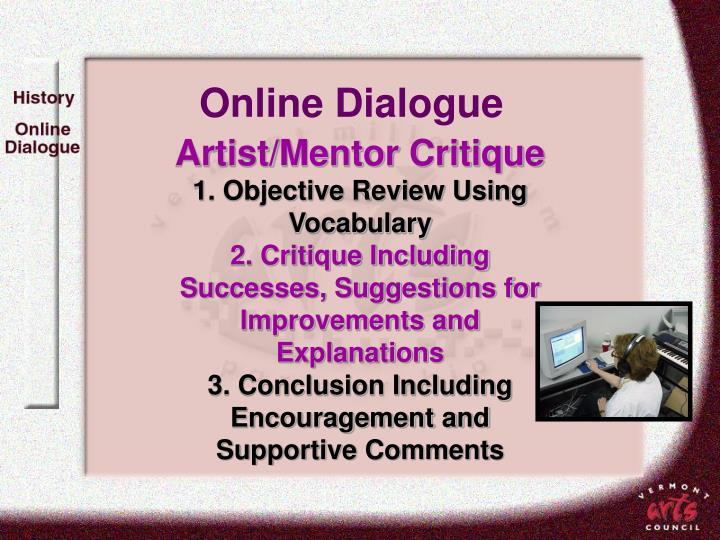 Online Dialogue
