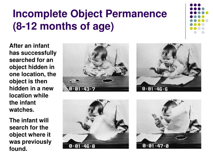 Incomplete Object Permanence