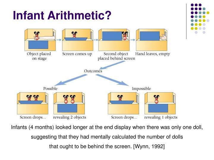 Infant Arithmetic?