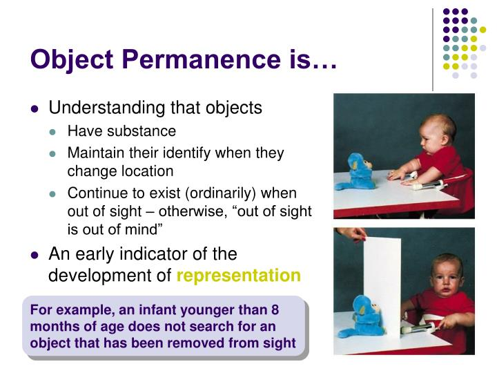 Object Permanence is…