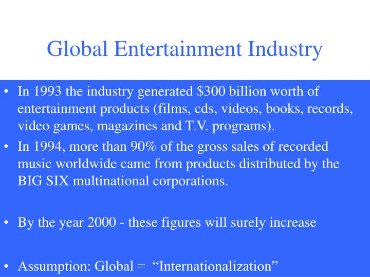 Global Entertainment Industry