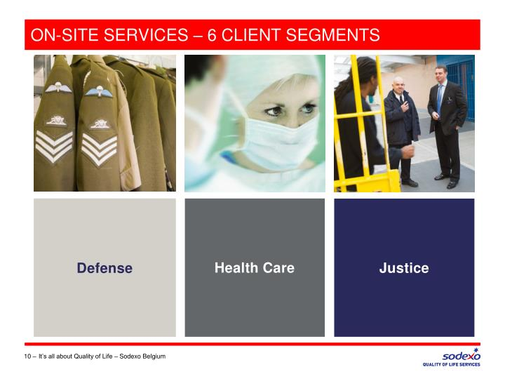 ON-SITE SERVICES – 6