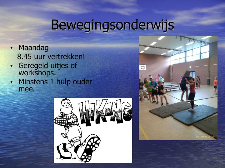 Bewegingsonderwijs