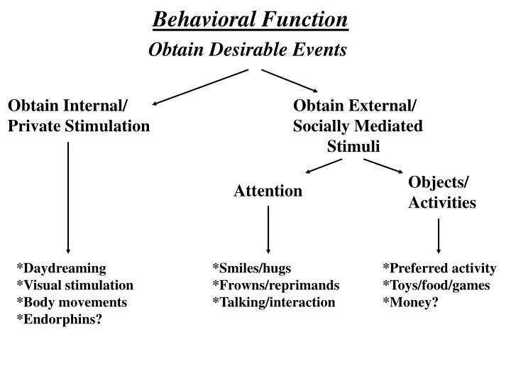 Behavioral Function