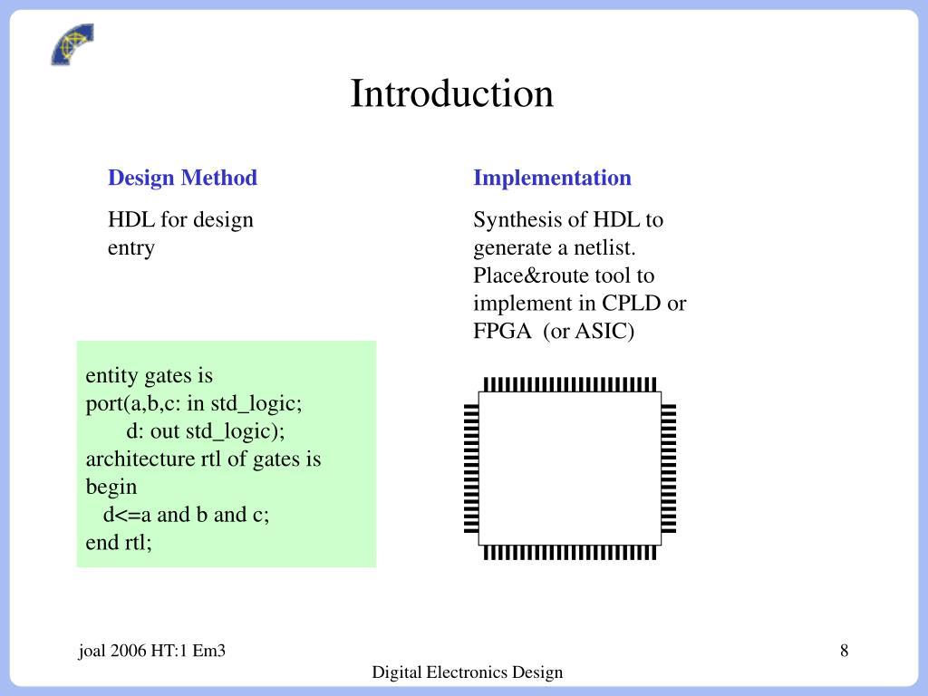 Ppt Course Introduction Digitalkonstruktion Digital Electronics Design Powerpoint Presentation Id 3966642
