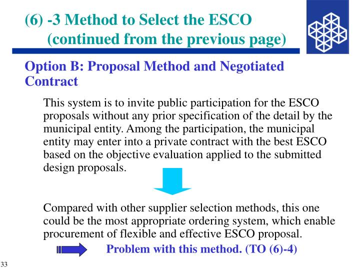 Option B: Proposal Method and Negotiated Contract