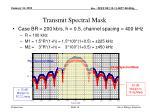 transmit spectral mask3