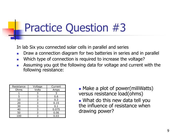 Practice Question #3