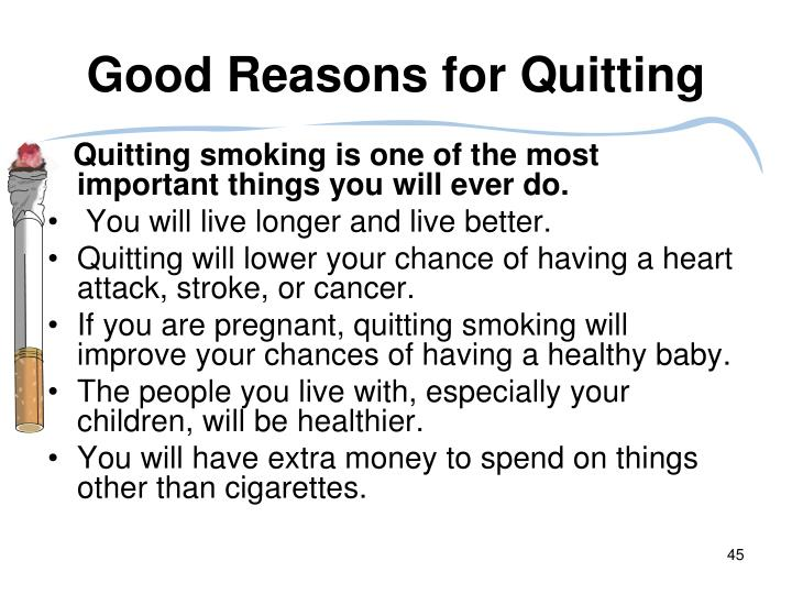 quitting a good thing essay Chart of the week: why quitting can be a good thing by auctioncom research today's chart of the.