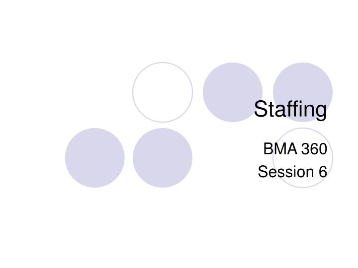 staffing and selection person job fit