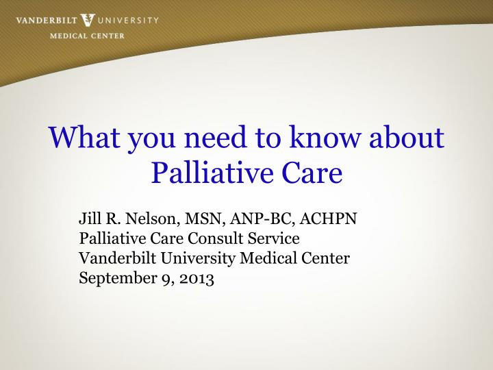 what you need to know about palliative care n.
