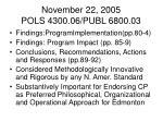 november 22 2005 pols 4300 06 publ 6800 032