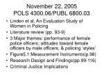 november 22 2005 pols 4300 06 publ 6800 033