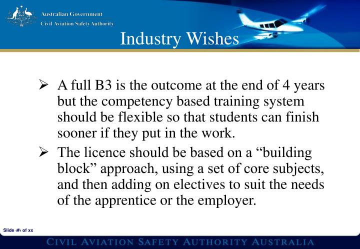A full B3 is the outcome at the end of 4 years but the competency based training system should be flexible so that students can finish sooner if they put in the work.