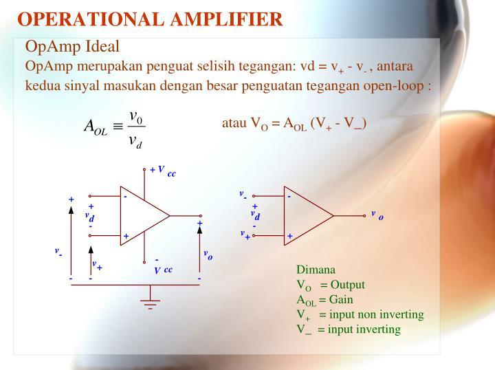Operational amplifier1