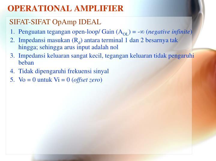 Operational amplifier2
