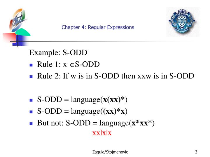 Chapter 4 regular expressions2