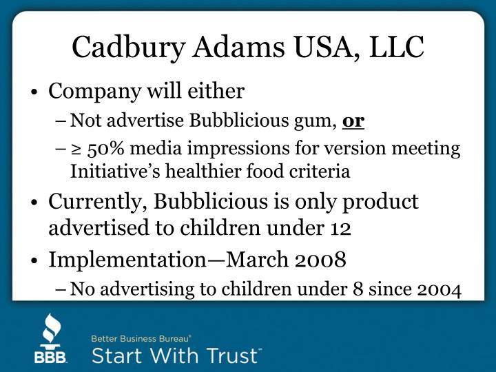 Cadbury Adams USA, LLC