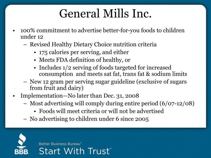 General Mills Inc.