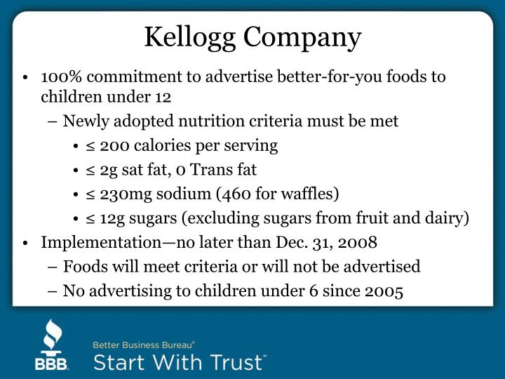 Kellogg Company