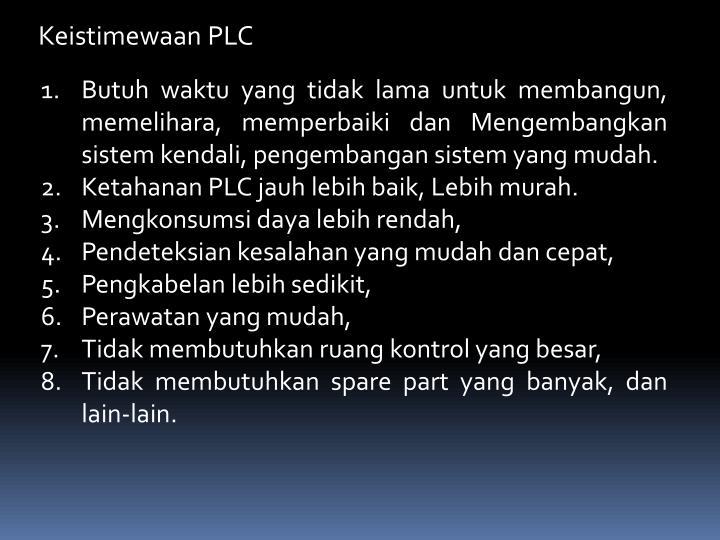Keistimewaan PLC