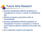 future aims research1