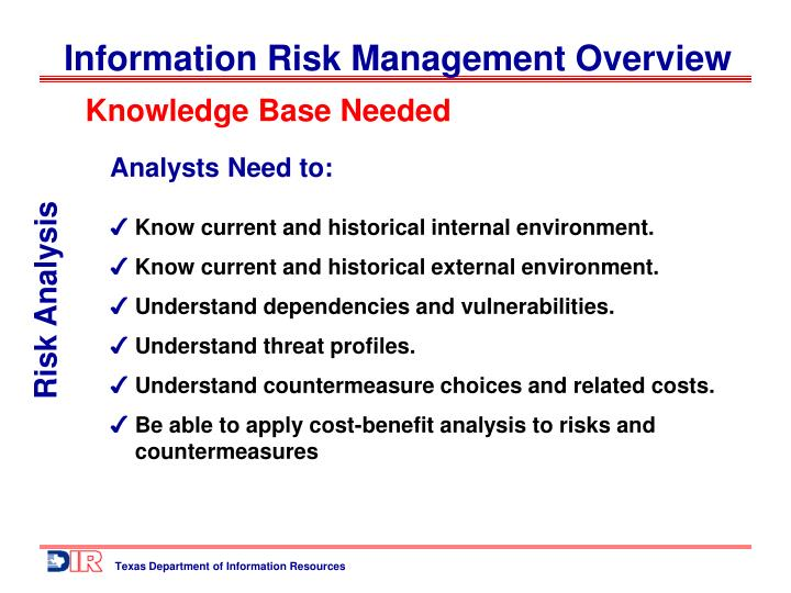 Knowledge Base Needed