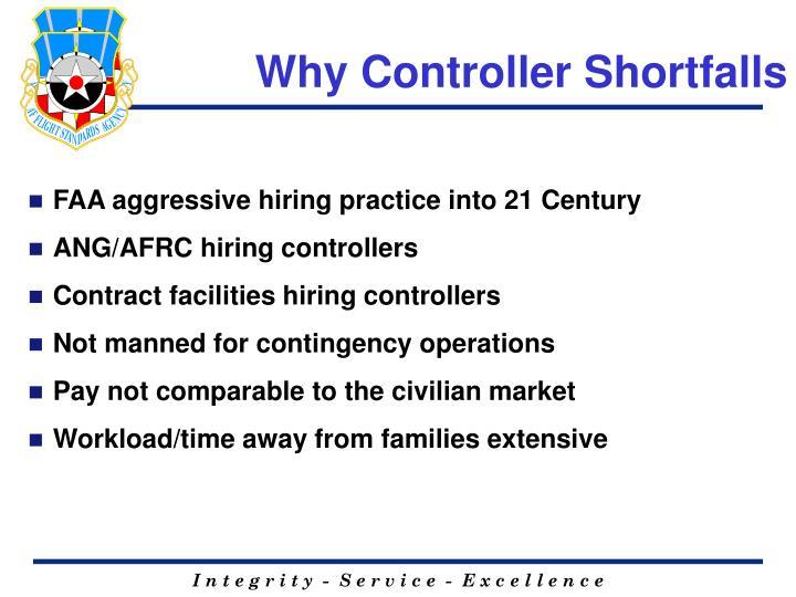 Why Controller Shortfalls