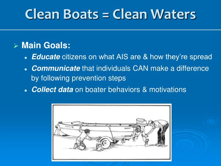Clean Boats = Clean Waters