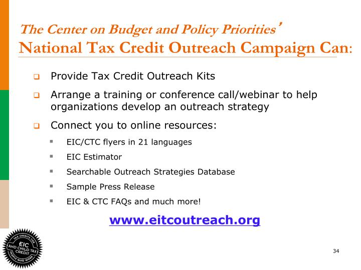 The Center on Budget and Policy Priorities