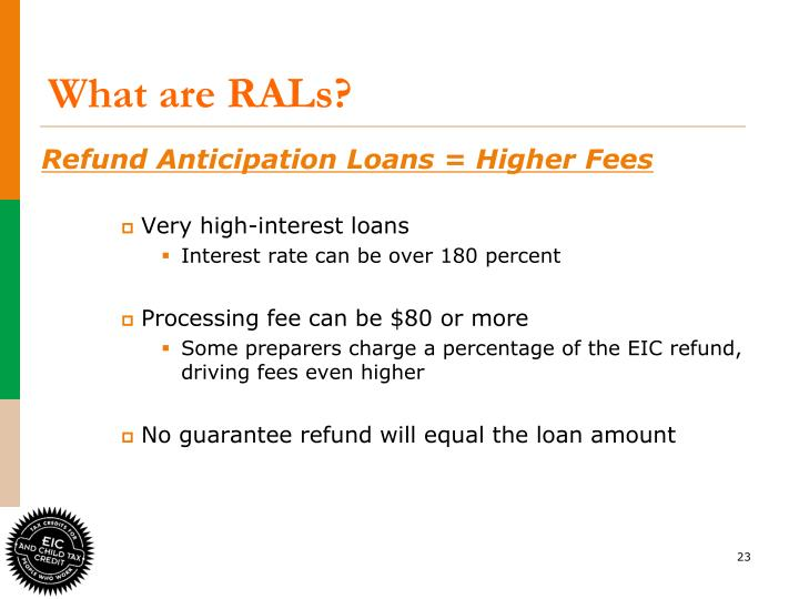What are RALs?