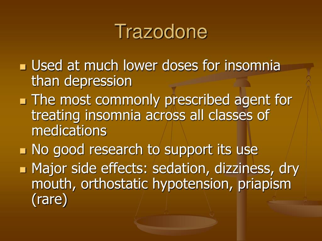 PPT - Medications for Insomnia: A Story of Risks and