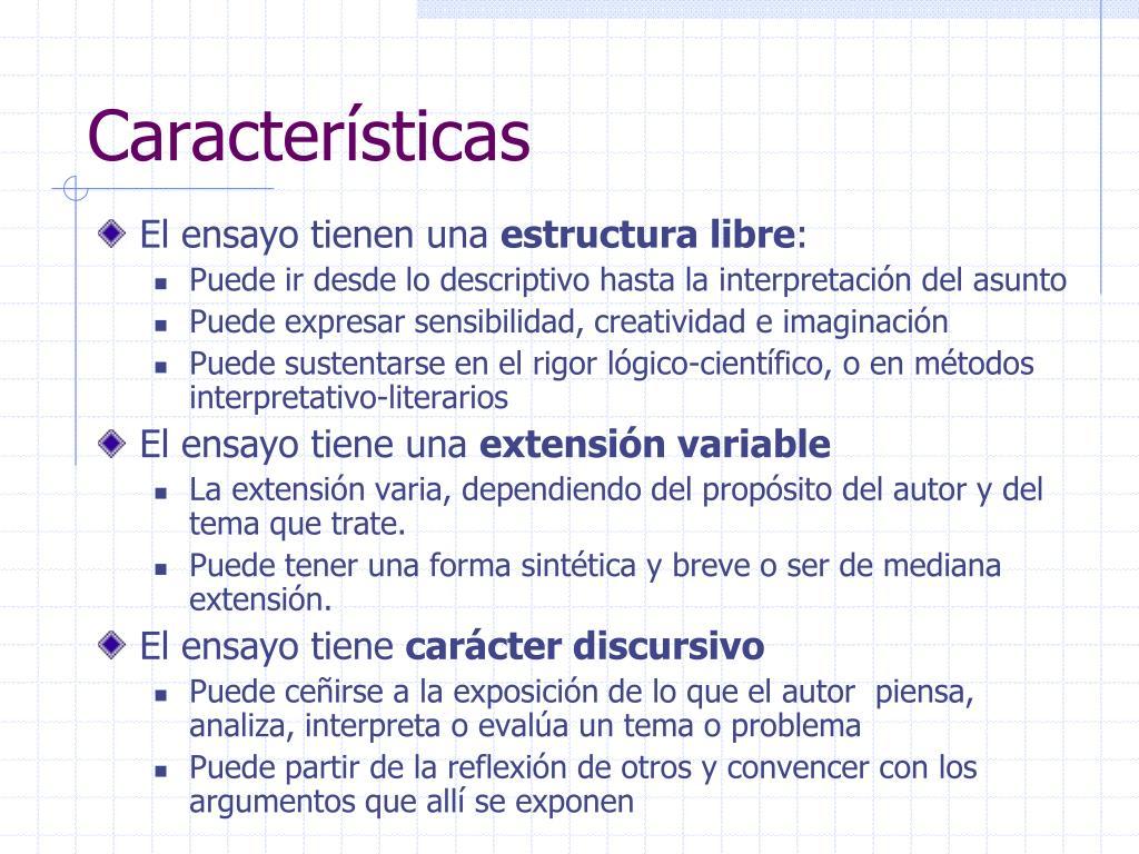 Ppt Guãa Para Elaborar Un Ensayo Powerpoint Presentation