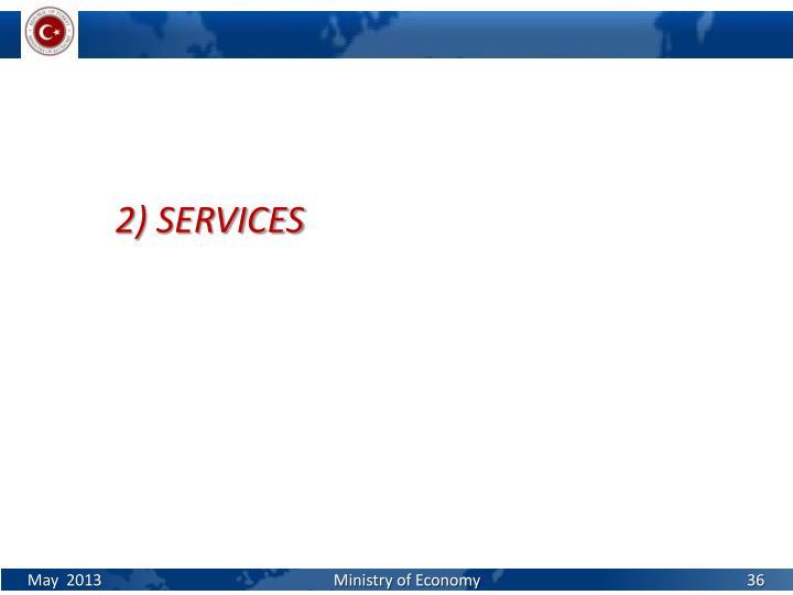 2) SERVICES
