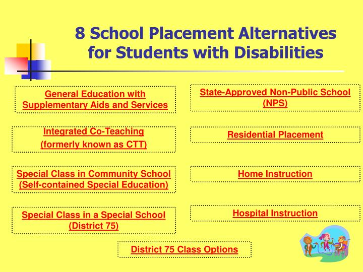 8 school placement alternatives for students with disabilities