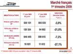 march fran ais 1 er trimestre 2009